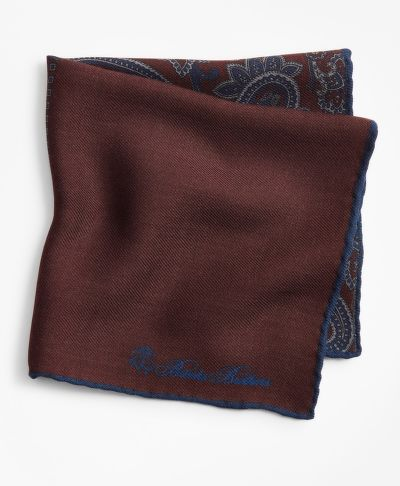 ZSEBKENDŐ BROOKS BROTHERS PATCHWORK FLANNEL POCKET SQUARE