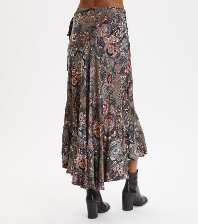 SUKN? ODD MOLLY EXTRAVAGANCA WRAP SKIRT