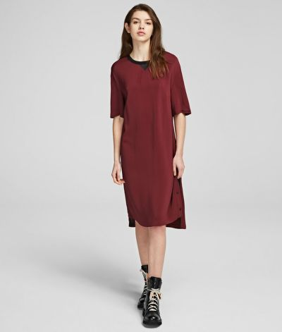 RUHA KARL LAGERFELD DRESS W/ SNAP SIDES