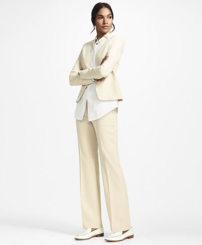 NADRÁG BROOKS BROTHERS DOUBLE-WEAVE PANTS
