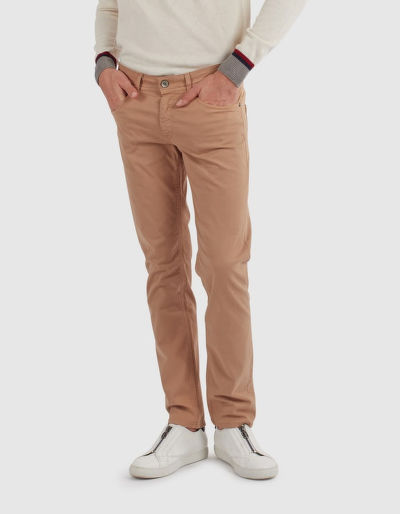 FARMER LA MARTINA PANT COTTON TWILL STRETCH TWIL
