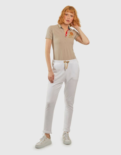TEPLÁKY LA MARTINA WOMAN COTTON FLEECE PANT