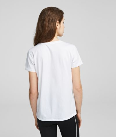 TRI?KO KARL LAGERFELD ADDRESS LOGO TEE