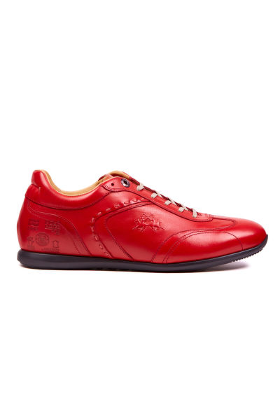 POLOBOTKY LA MARTINA MAN SHOES CANYON CALF LEATHER
