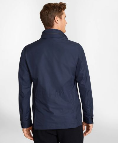 BUNDA BROOKS BROTHERS OUT ML PACKABLE FIELD JACKET NAVY BLAZER