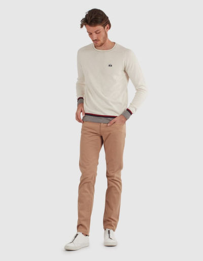 DŽÍNY LA MARTINA PANT COTTON TWILL STRETCH TWIL