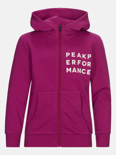 MELEGÍTŐ FELSŐ PEAK PERFORMANCE JR GROUND ZIP HOOD