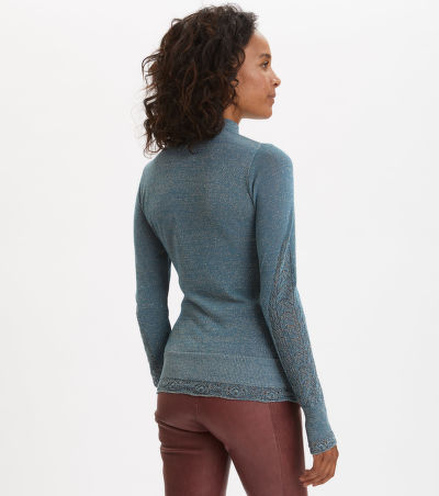 SVETR ODD MOLLY PRETTY POINTELLE TURTLENECK