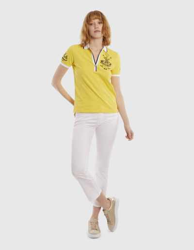 POLOKOŠILE LA MARTINA WOMAN POLO PIQUET STRETCH