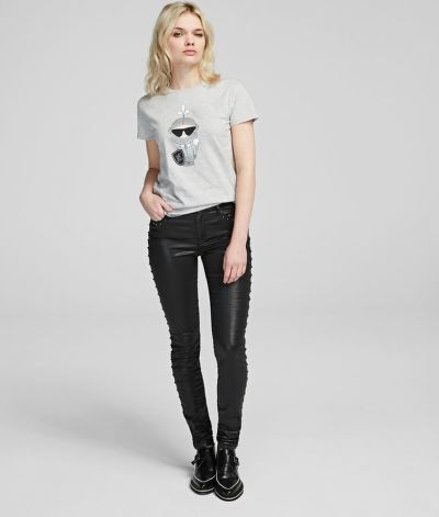 FARMER KARL LAGERFELD KARL'S TREASURE DENIMS W/STUDS