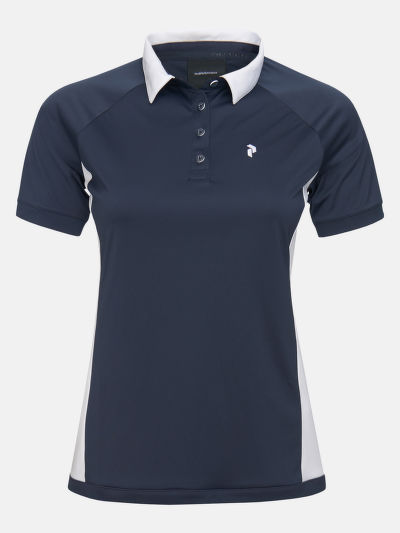 PÓLÓ PEAK PERFORMANCE W SLATE BLOCK POLO