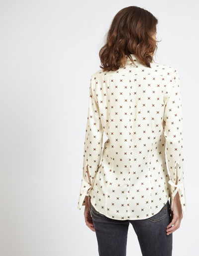 KOŠILE LA MARTINA WOMAN SHIRT L/S TWILL VISCOSE