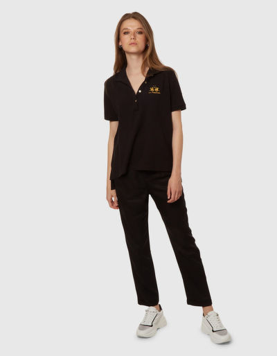 POLOKOŠILE LA MARTINA WOMAN PIQUET STRETCH POLO