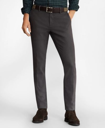 NADRÁG BROOKS BROTHERS SOHO FIT BRUSHED TWILL STRETCH CHINOS