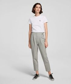 NADRÁG KARL LAGERFELD TAILORED JERSEY TROUSERS