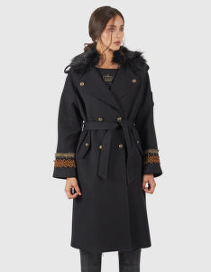 KABÁT LA MARTINA WOMAN COTTON TWILL TRENCH