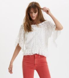 ING ODD MOLLY WING VIBES BLOUSE