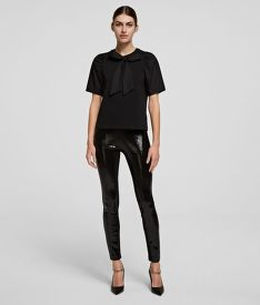 LEGGINS KARL LAGERFELD SEQUIN LEGGINGS