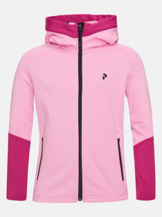 MELEGÍTŐ FELSŐ PEAK PERFORMANCE JUNIOR RIDER ZIP HOOD