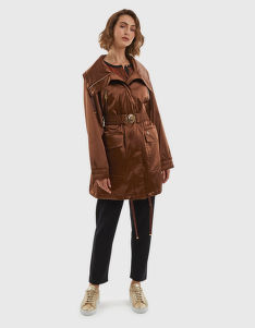 DZSEKI LA MARTINA WOMAN TRENCH OUTDOOR HEAVY SAT