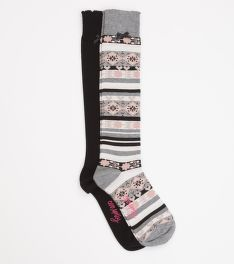 ZOKNI ODD MOLLY TWO OF A MIND KNEE HIGH SOCK