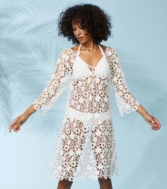 RUHA ODD MOLLY HOLY LACE BEACH DRESS