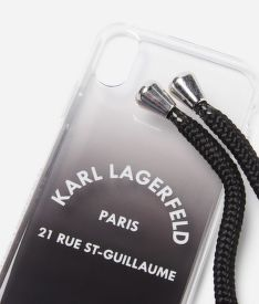 MOBILTELEFON TOK KARL LAGERFELD RSG CASE WITH STRAP XS
