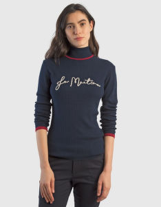 PULÓVER LA MARTINA WOMAN TRICOT TURTLENECK GG12