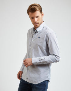 ING LA MARTINA MAN ALL OVER POPLIN SHIRT
