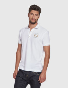 PÓLÓ LA MARTINA MAN POLO S/S TEXTURED PIQUET