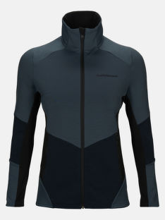 MELEGÍTŐ FELSŐ PEAK PERFORMANCE W VERTICAL MID ZIP JACKET