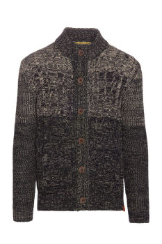 PULÓVER CAMEL ACTIVE CARDIGAN CABLE WITH MO
