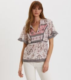 BLÚZ ODD MOLLY BOHEMIC S/L BLOUSE