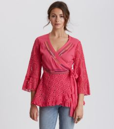 BLÚZ ODD MOLLY TWO-STEP FLOW BLOUSE