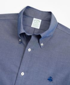 ING BROOKS BROTHERS SPT ML NI STRETCH PINPOINT SOLID MILANO SODALITE