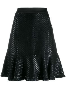 SZOKNYA KARL LAGERFELD KARL'S TREASURE BOUCLE SKIRT