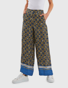 NADRÁG LA MARTINA WOMAN CHAINS PRINTED PANT