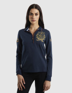 PÓLÓ LA MARTINA WOMAN POLO L/S PIQUET STRETCH