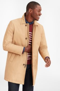 KABÁT BROOKS BROTHERS REMOVABLE-LINING TRENCH COAT