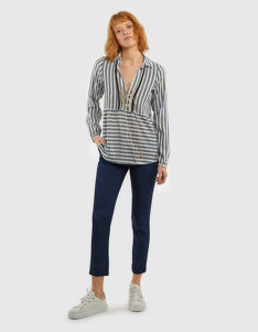 ING LA MARTINA WOMAN STRIPE BLOUSE
