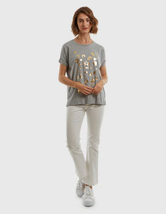 PÓLÓ LA MARTINA WOMAN COTTON JERSEY T-SHIRT
