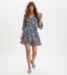 RUHA ODD MOLLY LUSH SHAKE WRAP DRESS