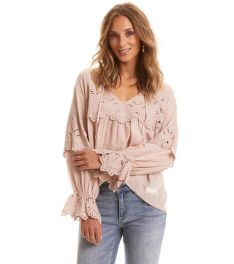 BLÚZ ODD MOLLY FLYING WITH LOVE BLOUSE