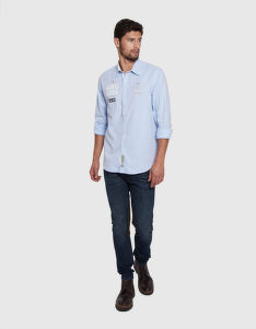 ING LA MARTINA MAN SHIRT L/S OXFORD