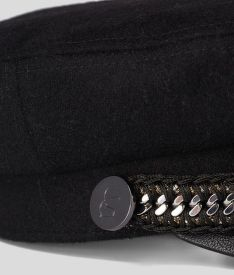 KALAP KARL LAGERFELD KARL CAPTAIN WOOL HAT