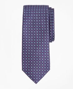 NYAKKENDŐ BROOKS BROTHERS CHECKERED NEAT TIE