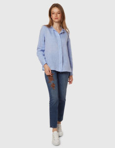 ING LA MARTINA WOMAN LINEN SHIRT