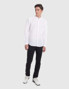 ING LA MARTINA MAN SHIRT L/S LINEN COTTON