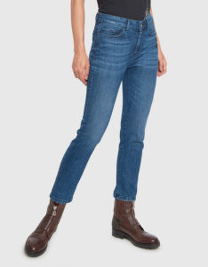 FARMER LA MARTINA WOMAN DENIM PANT BLUE DENIM ST