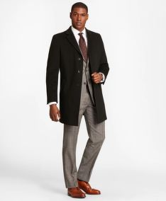 KABÁT BROOKS BROTHERS BROOKSSTORM SHORT TOWN COAT
